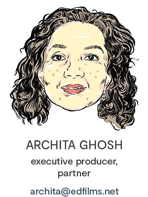 Archita Ghosh, e.d. films' Executive Producer, Partner
