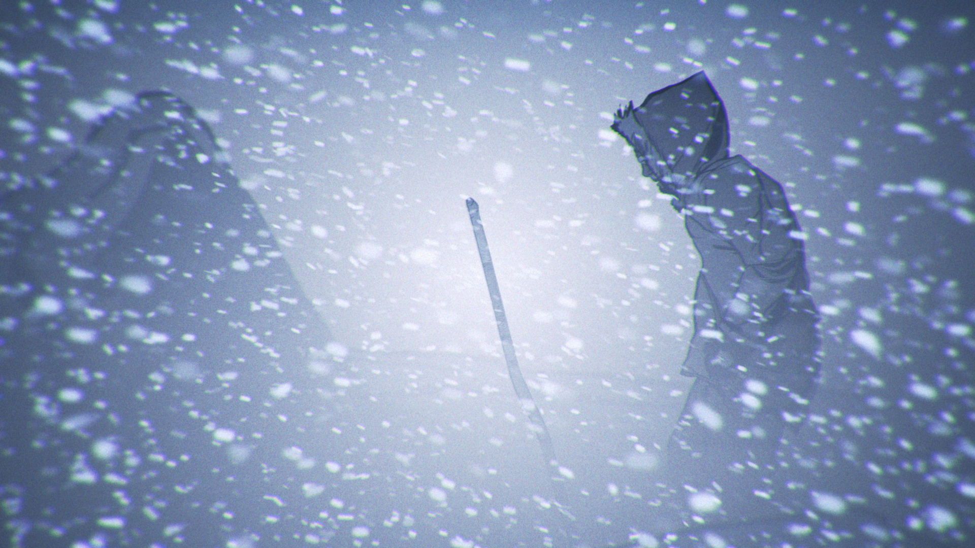 "Set in Northern Canada in the ""Country of Wolves"" (""Amaqqut Nunaat""), this animated short produced by Taqqut Productions in Iqaluit, Nunavut, Canada, is the animated telling on an Inuit legend.  Snow, in all of its glorious incarnations, is a part of many of its scenes and this set of 3 animated elements helped make this multi-award winning film come alive!"