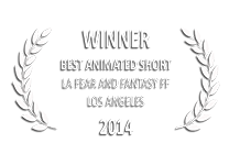 Los Angeles Fear and Fantasy Film Festival 2014 Best Animated Short | The Country of Wolves e→d films production