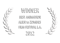 Alien to Zombies Film Festical 2012 Best Animation  | The Country of Wolves e→d films production