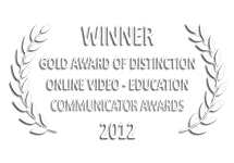 Communicator Awards Winner Gold Award of Excellence Online Video Education 2012 | Do You Know What Nano Means? e→d films Production