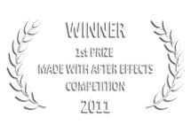 Motion.tv First Place Winner of Made With After Effects Competition 2011 | e→d films Production