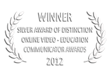 Communicator Awards Winner of Silver Award of Distinction Online Video Non-Profit 2012 | e→d films Production